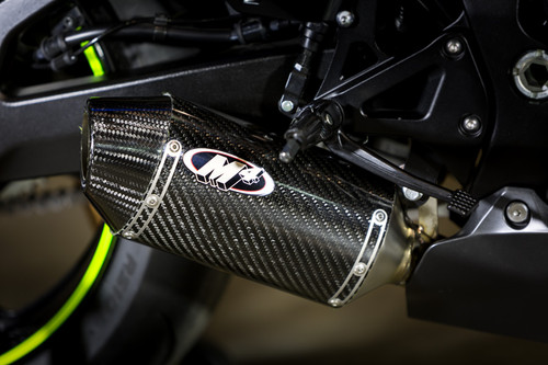 2017 GSXR1000 Street Slayer Full System with Full Titanium Tubing and CARBON Muffler