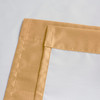 Soho Triple-Pass Thermal Insulated Blackout Curtain Rod Pocket-Gold-details