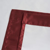 Soho Triple-Pass Thermal Insulated Blackout Curtain Rod Pocket-Burgundy-details