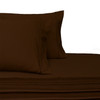 Split-Top-Sheets-Flex-Top-California-King-adjustable-beds-300TC-100-Cotton-Solid-Chocolate