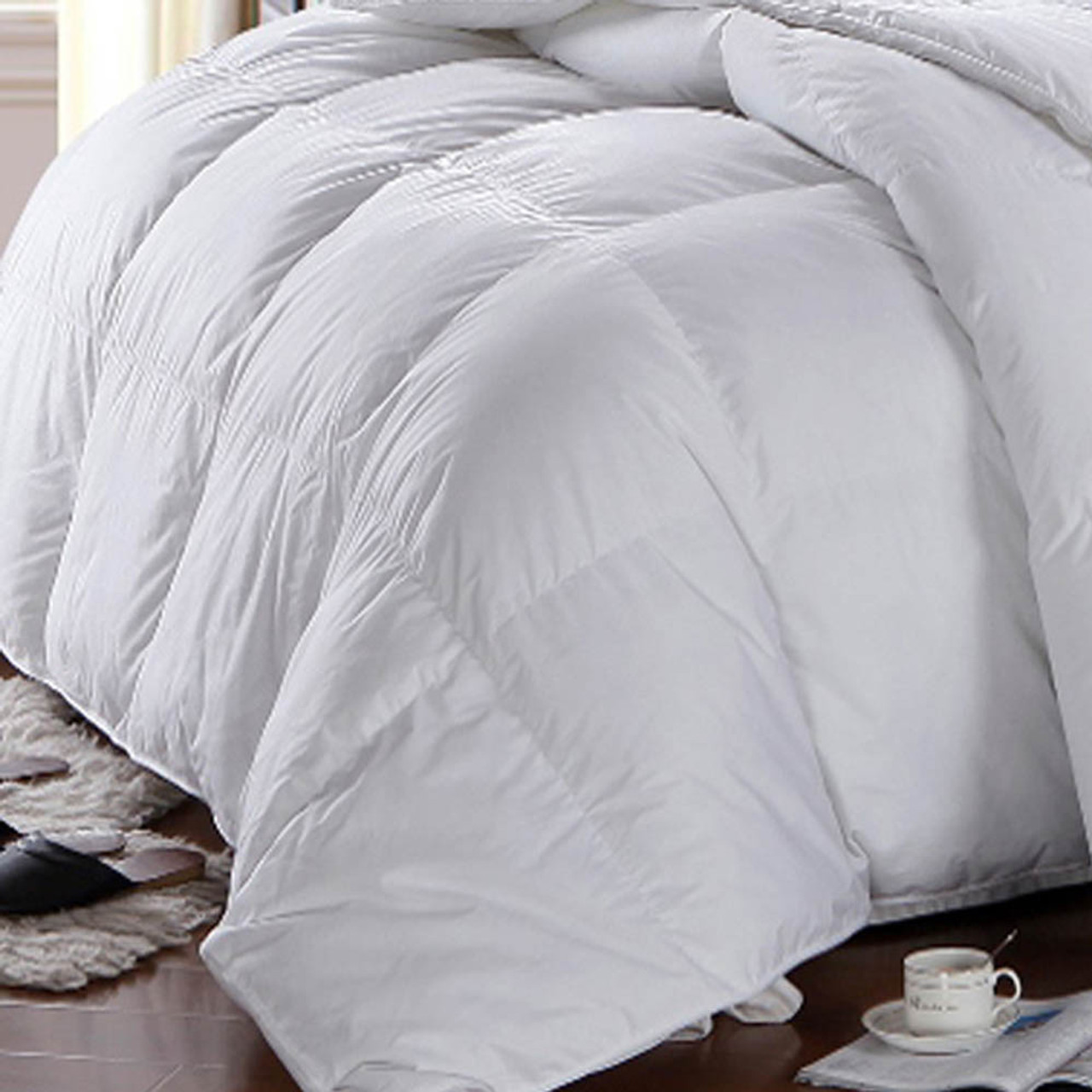 100 Cotton Hungarian Alternative Down Comforter Winter Weigh
