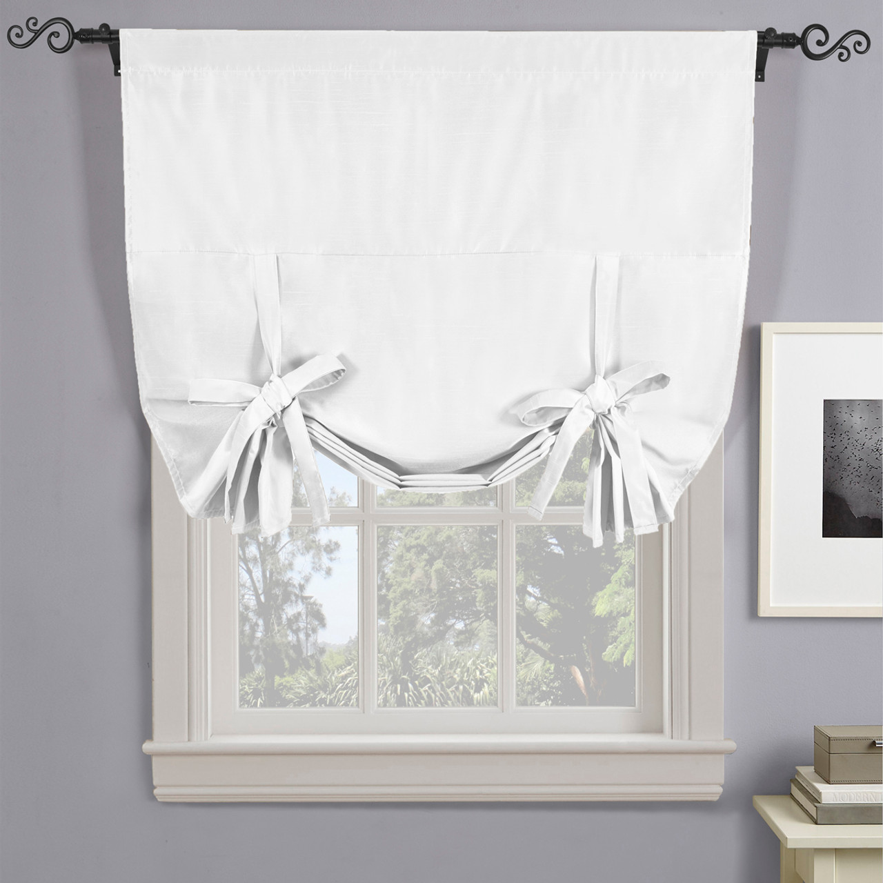 ... Soho Triple Pass Thermal Insulated Blackout Curtain Rod Pocket White ...