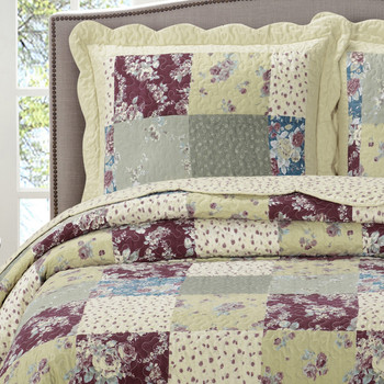Tania Westlife Fashions Antique Mini Bedspread Set/ Detailed Image