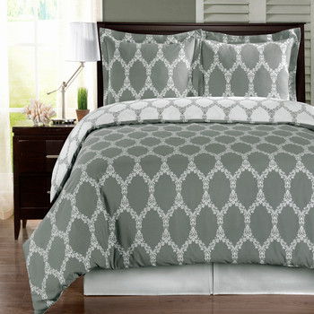 Brooksfield 100% Cotton Duvet Cover Set