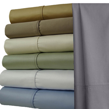 Luxury 1000 Thread Count Sheets 100% Cotton Solid Sheet Set