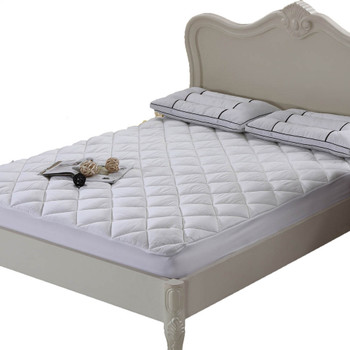 Cool & Plush 100% Bamboo Mattress Pad/Topper by Royal Hotel