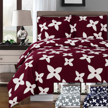 Desiree Combed Cotton Duvet Cover Set