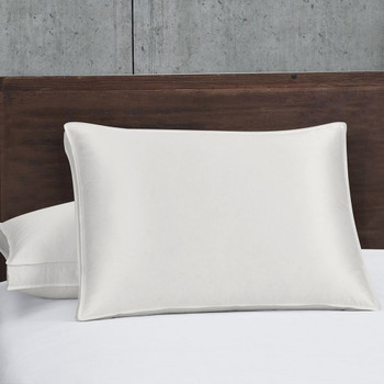 Silk Goose Down Pillows 700 Fill Power Firm Support (Single)