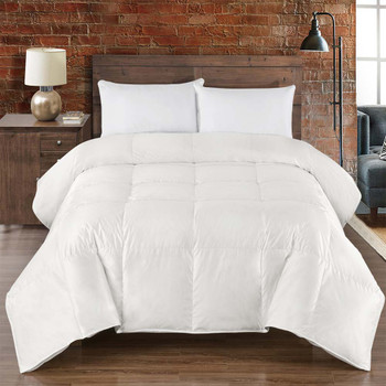 Silk Goose Down Comforter Heavy Winter Fill By Abripedic