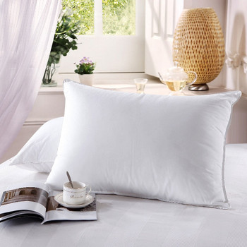 Firm Down Pillows 500 Thread Count Neck Support Pillow (Single)