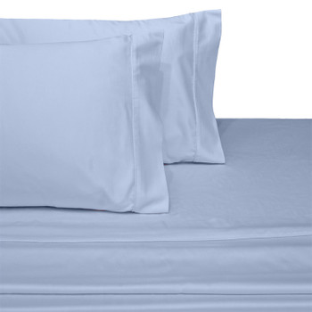 Blue-Olympic-Queen-100%-Cotton-300-Thread-Count-Solid-Sheet-Set