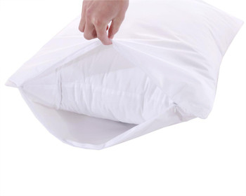 Waterproof Pillow Protector 3M Stain Release And TPU Laminated