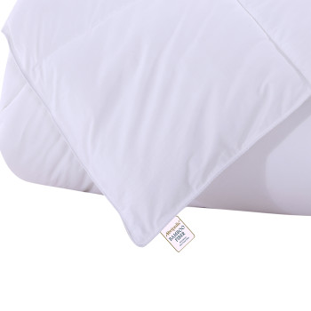 Bamboo-Filled-Blanket-300-Thread-Count-100-Cotton -White-label