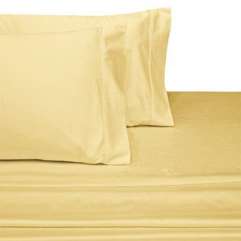 Gold-Luxury-California-king-Cotton-Sateen-Sheets-600-Thread-Count-Solid