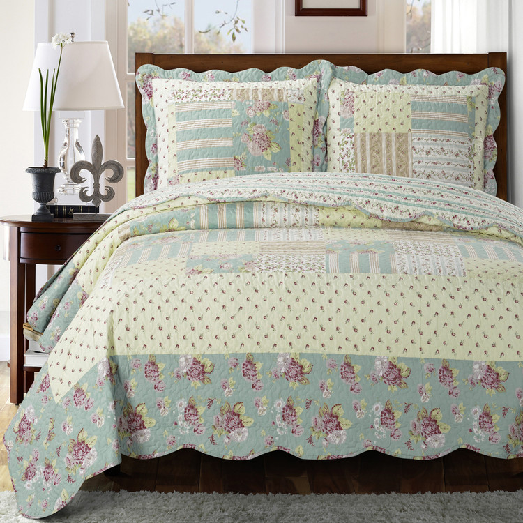 Annabel Sweet Home Quilted Coverlet Set
