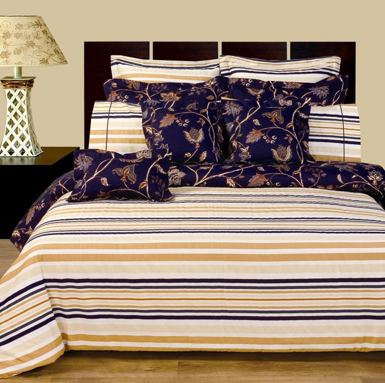 Lilian 11 Pc Duvet Cover Amp Sheet Set 100 Cotton