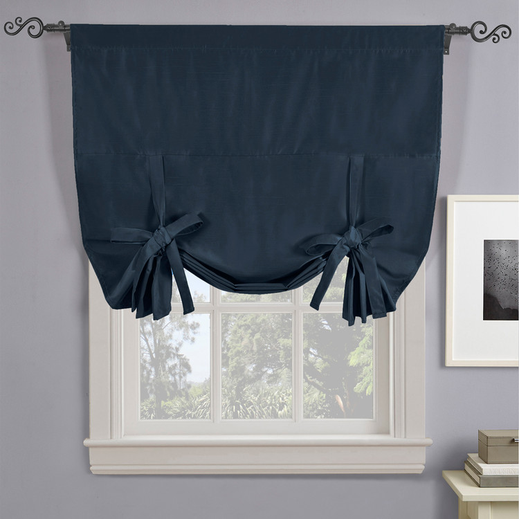 Soho Triple-Pass Thermal Insulated Blackout Curtain Rod Pocket-Navy