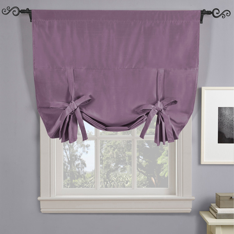 Soho Triple-Pass Thermal Insulated Blackout Curtain Rod Pocket-PURPLE