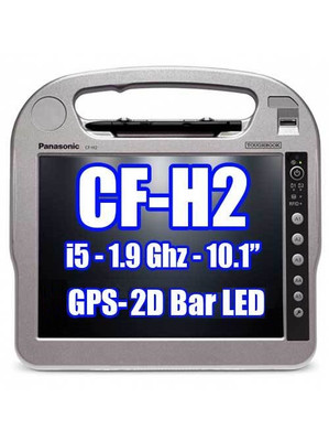 Panasonic Toughbook CF-H2 CF-H2PRDDD3M GPS, 2D Bar Laser, Smartcard/RFID Reader **New**