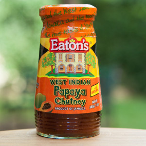EATON'S WEST INDIAN PAPAYA CHUTNEY – 12 Oz