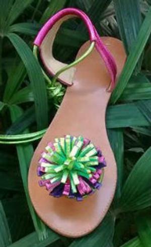 Bold Twist Sandals