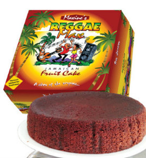 24 oz Reggae Max  Fruit cake