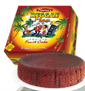 40oz Reggae Max fruit cake