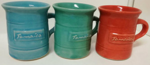 Clonmel etched coffee cups