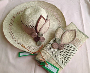 Straw Hat Set