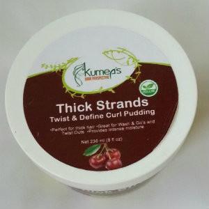 KP Thick Strand twist & curl pudding  8oz