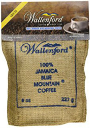 8oz Jute Bag Jamaica Blue Mountain coffee  Roasted and Ground