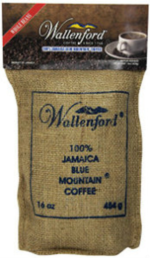 16oz Jute Bag Jamaica Blue Mountain coffee WB