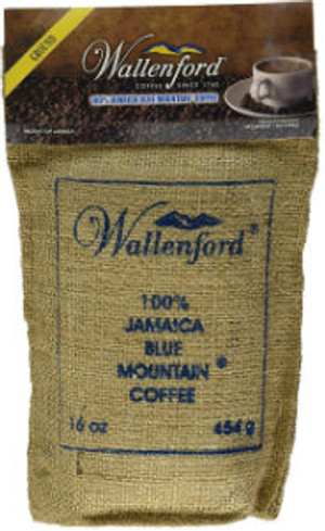 16oz Jute Bag Jamaica Blue Mountain Coffee RG