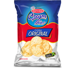 NATIONAL CREAM THINS CRISPY CRACKERS  ( bundle 6)