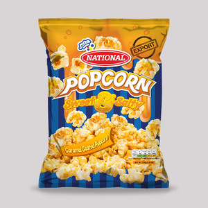 NATIONAL CARAMEL POPCORN bundle of 3