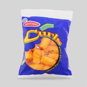 NATIONAL CHEESE CURLS small (bundle of 3)