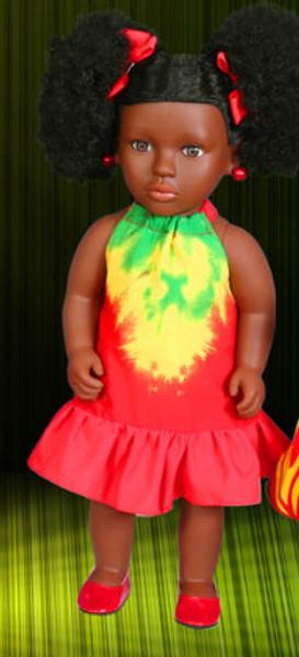 Groovy Tie Dye Doll