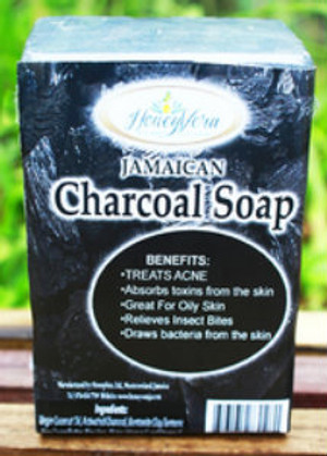 Honey Vera Charcoal  soap
