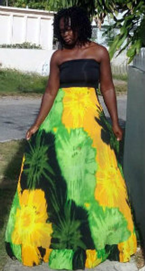 Jamaica coloured Tube dress