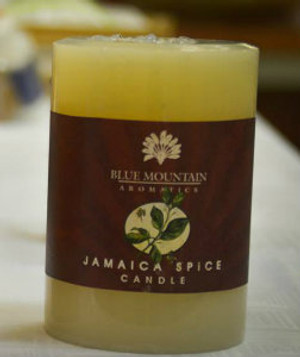 Jamaican spice  Pillar candle (15oz)