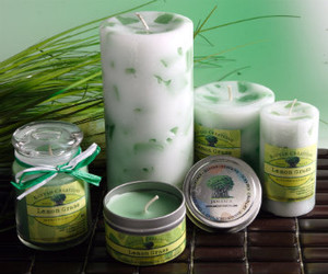 Lemongrass  Candle Set