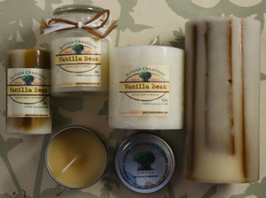 Vanilla Bean  Candle Set
