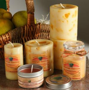 Orange Vanilla Candle Set (B)