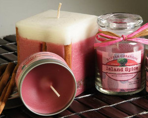 Island Spice candle set