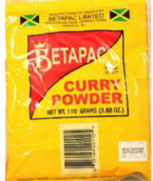 BetaPac Jamaican curry Powder
