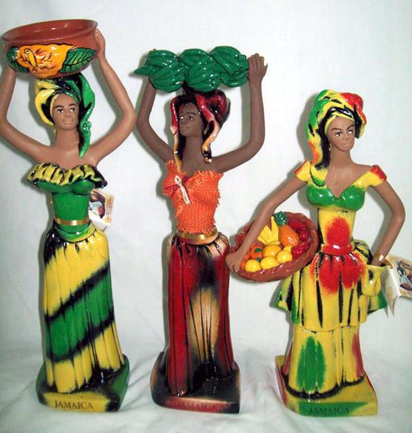 Market lady figurine