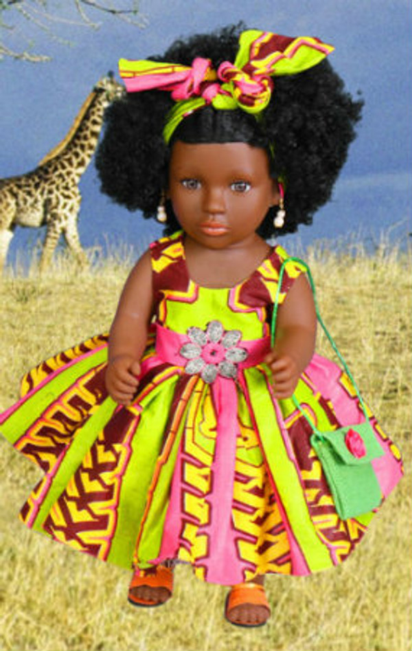 African Inspired doll 2