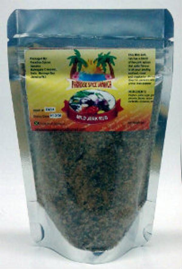 Paradise Spice Mild Jerk Rub Pouch