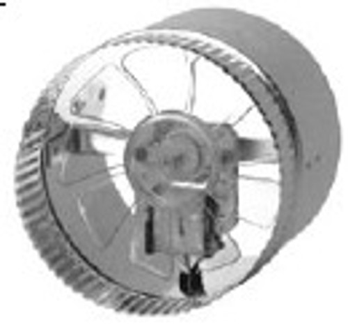 T9-DB124, 12 in. Round In line Vent Duct Booster.  Designed to b
