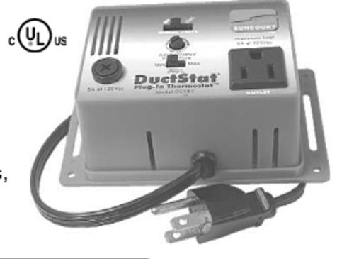 T9-DS45110 Plug-In Duck Stat